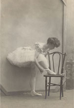 Imperial Russian Ballet Postcard